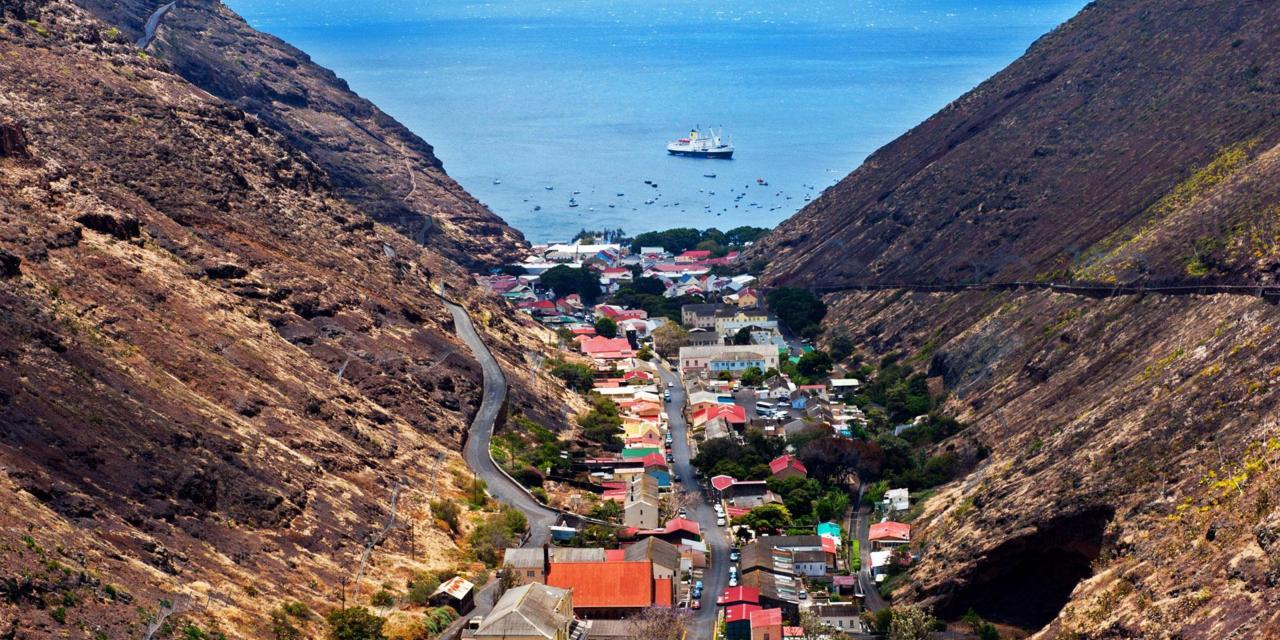 St. Helena by Private Jet